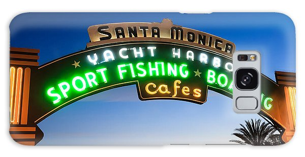 Santa Monica Galaxy S8 Case - Santa Monica Pier Sign by Paul Velgos