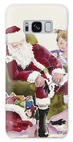 Waiting Up For Santa Galaxy Case