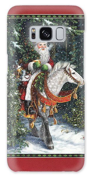 Santa Of The Northern Forest Galaxy Case