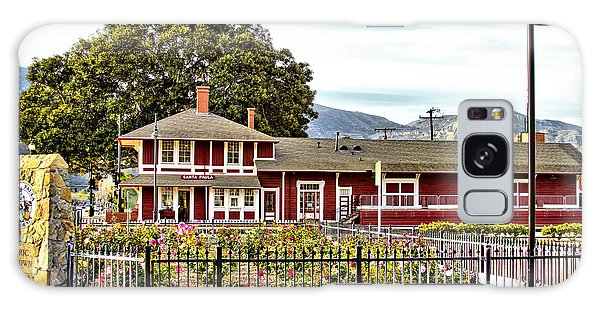 Santa Paula Train Station Galaxy Case