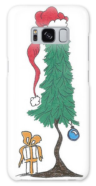 Santa Tree Galaxy Case