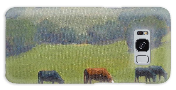 Santa Ynez Cows Galaxy Case