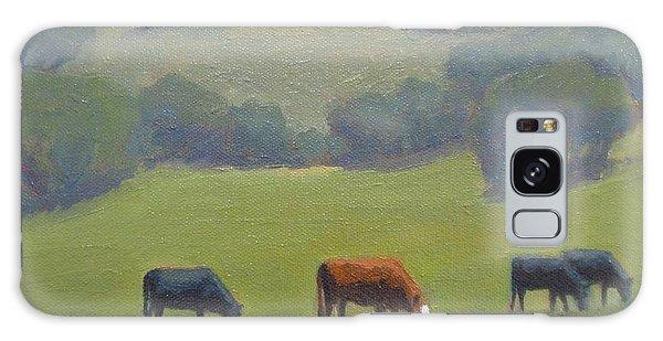Santa Ynez Cows Galaxy Case