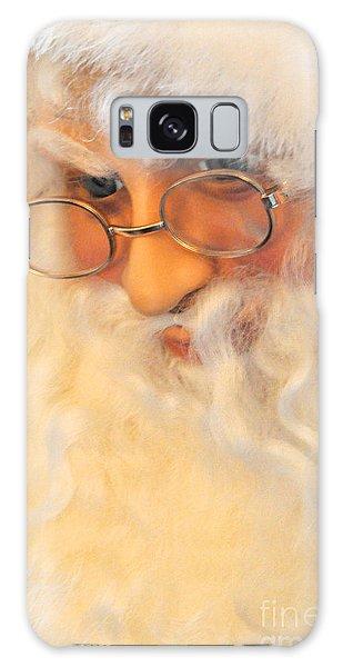 Santa's Beard Galaxy Case by Vinnie Oakes