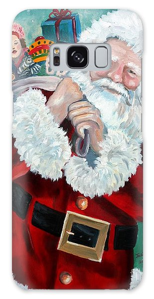 Santa's Coming To Town Galaxy Case