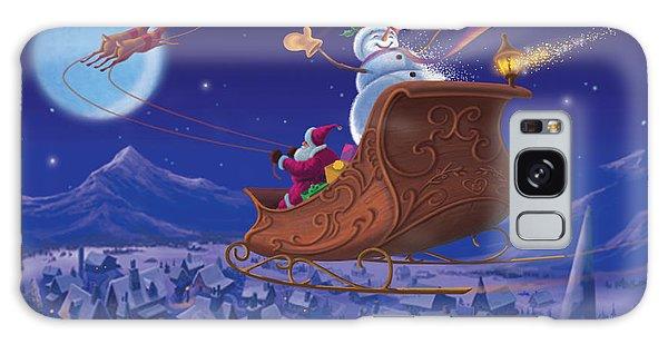 Santa's Helper Galaxy Case