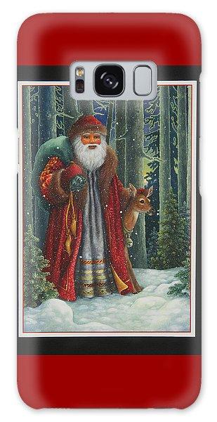Santa's Journey Galaxy Case
