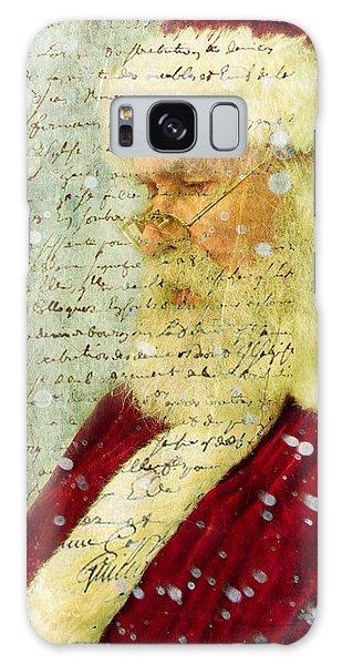 Santas Letter  Galaxy Case