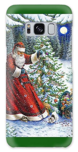 Santa's Little Helpers Galaxy Case