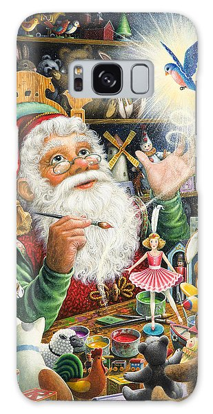 Santa's Workshop Galaxy Case