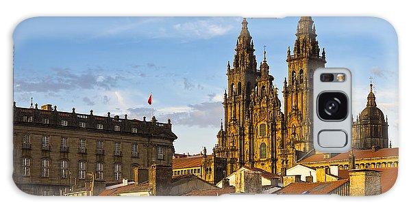 Santiago De Compostela Cathedral Galicia Spain Galaxy Case