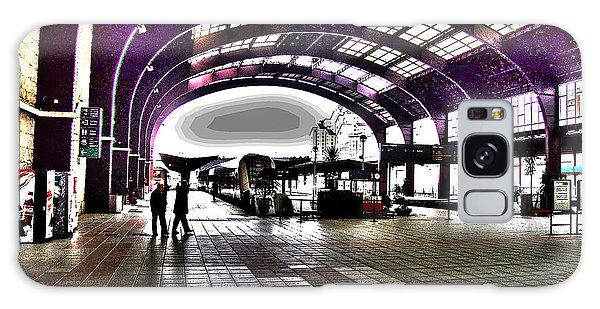 Santiago De Compostela Station Galaxy Case