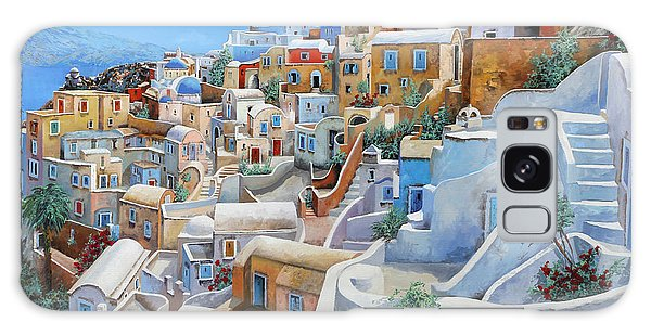 Borelli Galaxy Case - Santorini A Colori by Guido Borelli