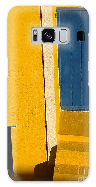 Santorini Doorway Galaxy Case