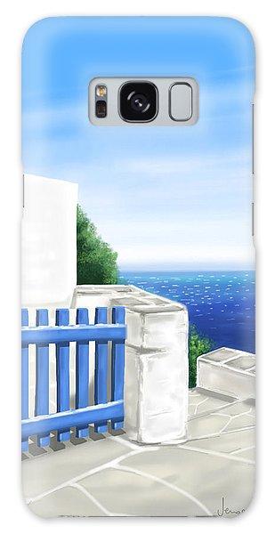 Santorini Galaxy Case
