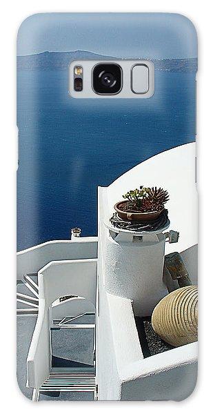 Santorini Welcome Galaxy Case