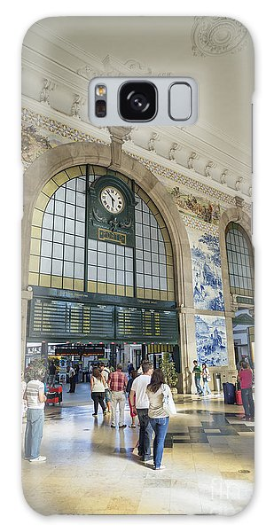 Sao Bento Railway Station Porto Portugal Galaxy Case