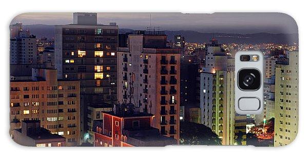 Sao Paulo Downtown At Dusk Galaxy Case
