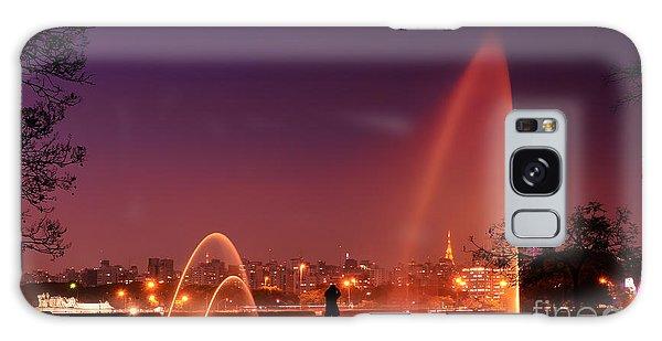 Sao Paulo - Ibirapuera Park At Dusk - Contemplation Galaxy Case
