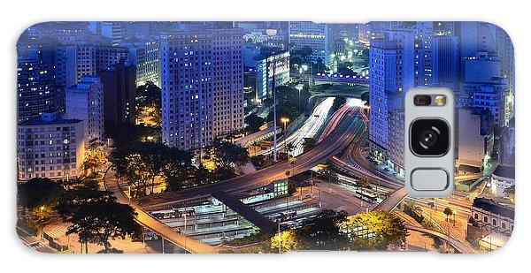 Sao Paulo Skyline - Downtown Galaxy Case