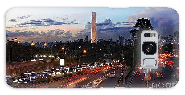 Sao Paulo Skyline - Ibirapuera Galaxy Case