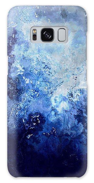 Sapphire Dream - Abstract Art Galaxy Case