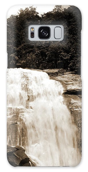 Pasture Galaxy Case - Sapphire, N.c, Horse Pasture Falls, Waterfalls, Rivers by Litz Collection
