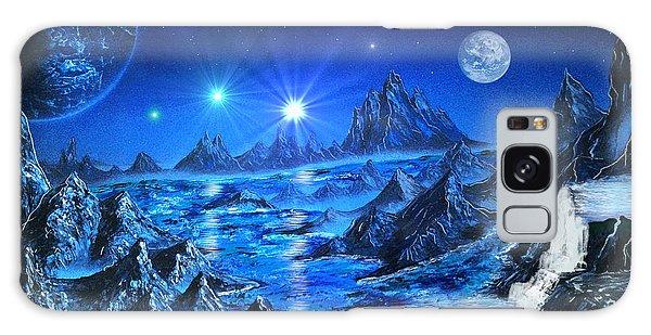 Sapphire Planet Galaxy Case