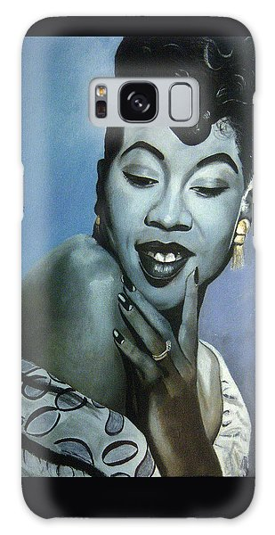 Sarah Vaughan Galaxy Case by Chelle Brantley