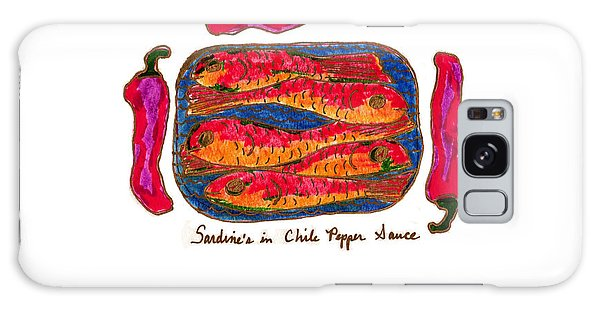 Sardines In Chili Pepper Sauce Galaxy Case by Clarity Artists
