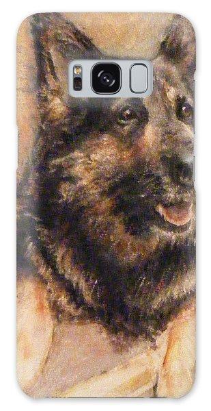Sasha German Shepherd Galaxy Case by Richard James Digance