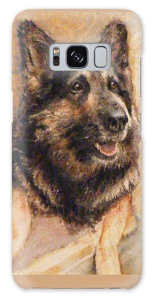 Sasha German Shepherd Galaxy Case