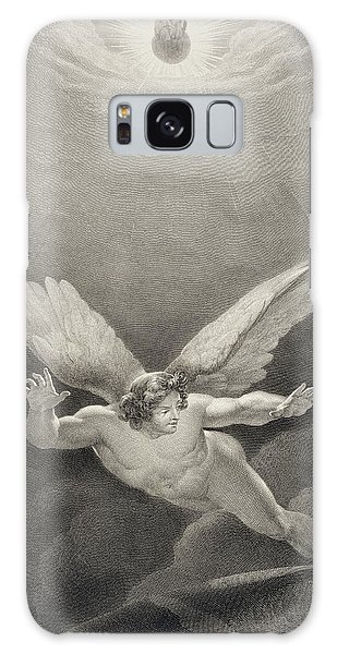 Folklore Galaxy Case - Satan Leaps Over The Walls Of Heaven by Richard Edmond Flatters