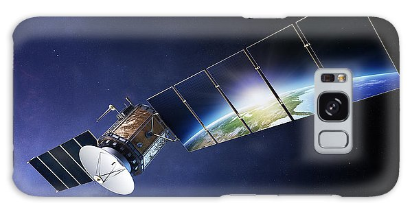 Navigation Galaxy Case - Satellite Communications With Earth by Johan Swanepoel
