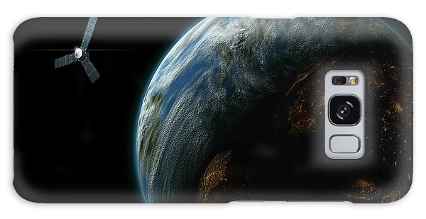Satellite Planet  Galaxy Case