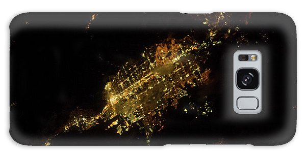Usa Map Galaxy Case - Satellite View Of Las Vegas, Nevada, Usa by Panoramic Images