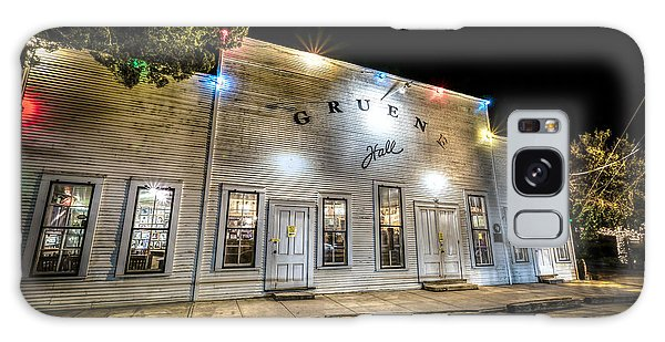 Saturday Night At Gruene Hall Galaxy Case