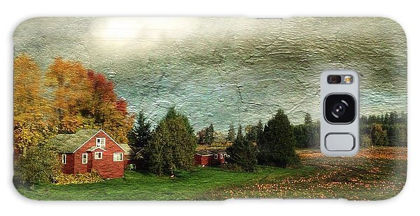 Sauvie Island Farm Galaxy Case