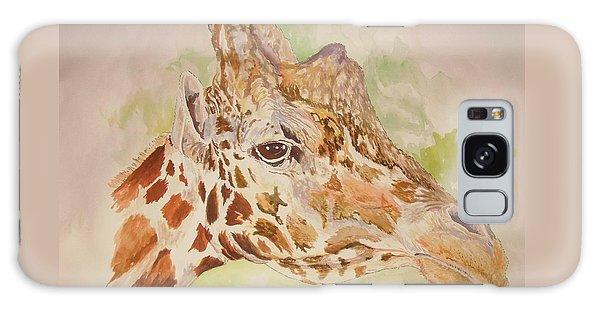 Savanna Giraffe Galaxy Case