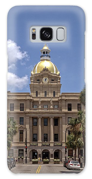 Savannah City Hall Galaxy Case
