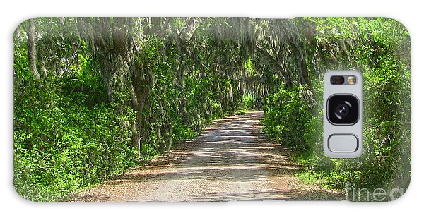Savannah Country Road Galaxy Case by D Wallace
