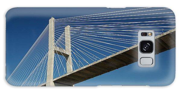 Savannah River Bridge Georgia Usa Galaxy Case