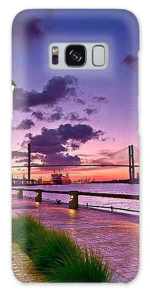 Savannah River Bridge Galaxy Case