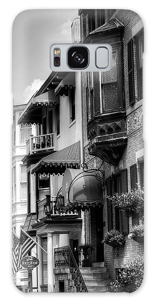 Savannah's Foley House Inn In Black And White Galaxy Case