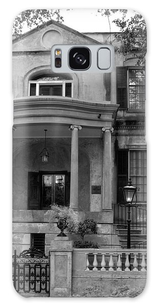 Savannah's Owens - Thomas House In Black And White Galaxy Case