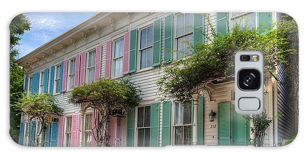 Savannah's Rainbow Row Galaxy Case