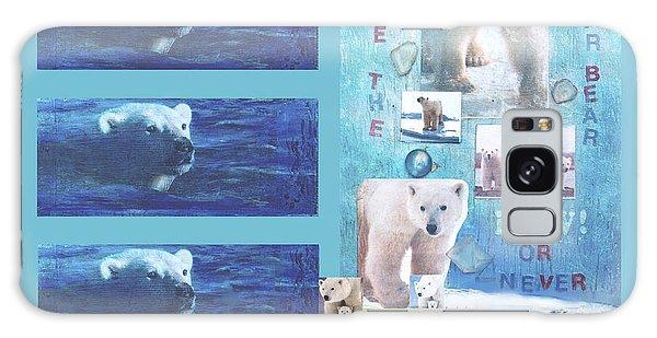 Save The Polar Bear Now Or Never Galaxy Case