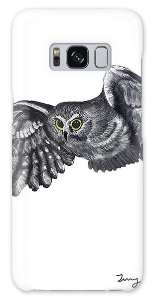 Saw-whet Owl Galaxy Case by Terry Frederick