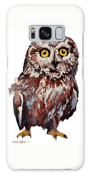 Da148 Saw Whet Owl Daniel Adams Galaxy Case