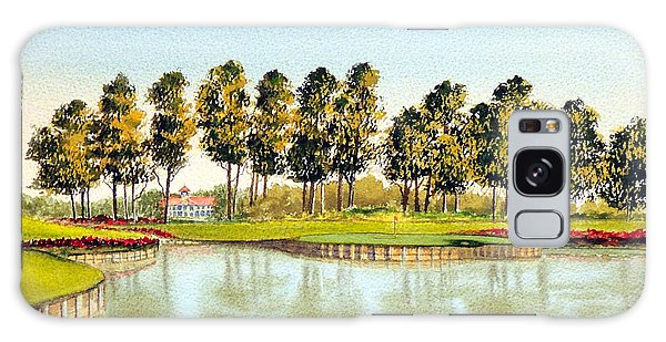Sawgrass Tpc Golf Course 17th Hole Galaxy Case by Bill Holkham